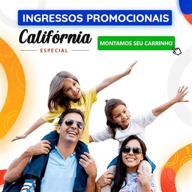 Ingressos Promocionais Califórnia