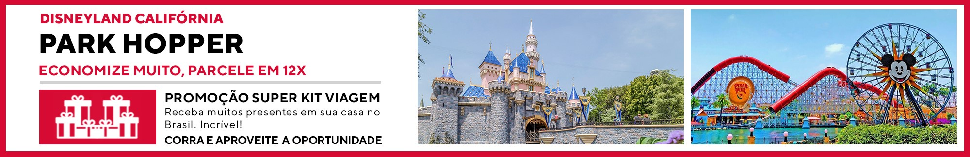Disneyland com Park Hopper