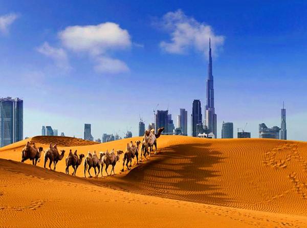 Hotéis no Deserto de Dubai
