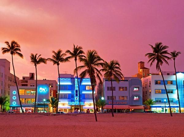 Hotéis na Ocean Drive