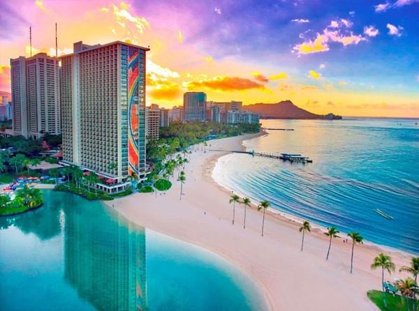 Resorts nas Praias