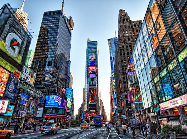 Hotéis na Time Square