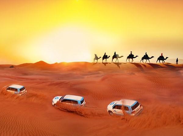 Jantar no Deserto de Dubai