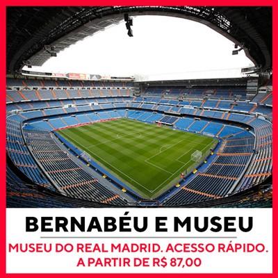 Tour Estádio e Museu Santiago Bernabéu Real Madrid