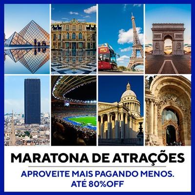 Maratona de Atrações Paris