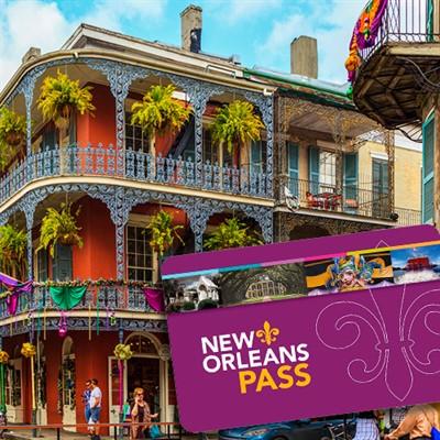 Passe Go Card Nova Orleans