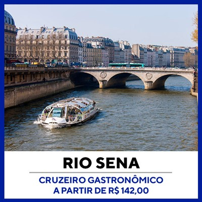 Cruzeiro Gastronômico Pelo Rio Sena