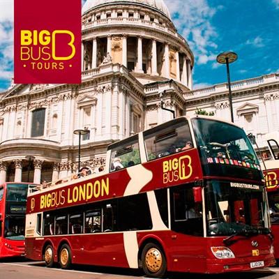 Big Bus Londres Tour em Ônibus Panorâmico