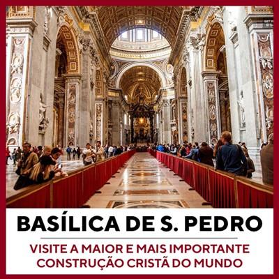 Museus Vaticanos, Capela Sistina e Basílica São Pedro