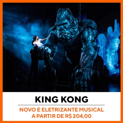 King Kong Musical Broadway Nova York