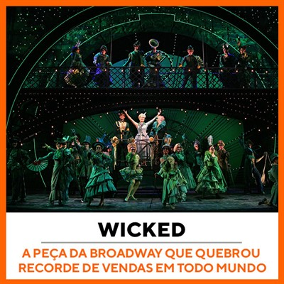 Wicked Musical Broadway Nova York