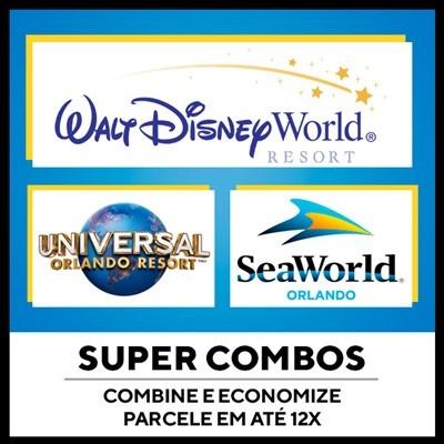 Super Combos Disney 2 Dias