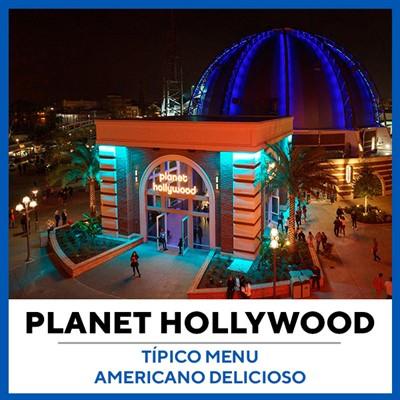Restaurante Planet Hollywood