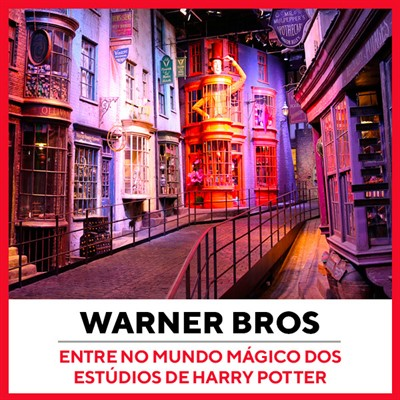 Tour Estúdio Warner Bros Londres