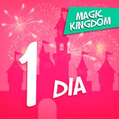 Ingresso 1 Dia - Magic Kingdom - Válido para Temporada PEAK- ADULTO (10 anos ou +) - Consulte datas ANTES de comprar - 2018