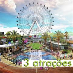 3 Atrações no I-Drive 360 - Madame Tussauds, The Orlando Eye e Aquário SEALIFE - Mais de 35% OFF por cada atração - CRIANÇA (3-12 anos) - 2018