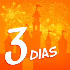 Ingresso 3 Dias Disney - Mais de 30% OFF por cada dia de parque - Escolha entre Magic Kingdom, EPCOT, Hollywood Studios ou Animal Kingdom - ADULTO (10 anos ou +) - 2018 ou 2019