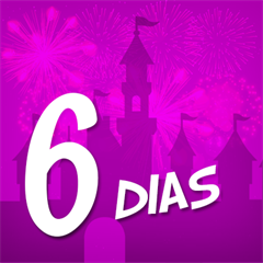 Ingresso 6 Dias Disney - Mais de 50% OFF por cada dia de parque - Magic Kingdom, EPCOT, Hollywood Studios e Animal Kingdom - ADULTO (10 anos ou +) - 2018 ou 2019