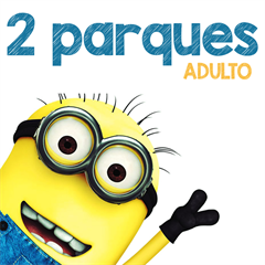 Ticket 2 Dias Park-to-Park (Universal Studios e Islands of Adventure) - ADULTO (10 anos ou +) - 2017 ou 2018