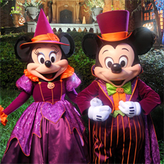 Ingresso Disney Mickey's Not So Scary Halloween Party - 1 Entrada - Festa das 19h às 00h - ADULTO (10 anos ou +)