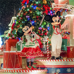 Ingresso Disney Mickey's Very Merry Christmas Party - 1 Entrada - Festa das 19h às 00h - ADULTO (10 anos ou +)