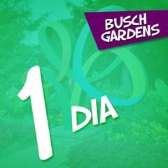 Ingresso 1 Dia Busch Gardens - As Atrações Mais Radicais do Mundo e Diversos Habitats com Animais Exóticos - ADULTO ou CRIANÇA - 2018 ou 2019