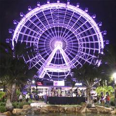 Ingresso Roda Gigante The Orlando Eye - Mais de 15% OFF do preço da Bilheteria - 122m com visão espetacular da Flórida - 1 Entrada - ADULTO (13 anos ou +) - 2017 ou 2018