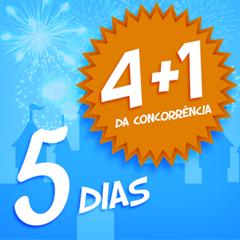 Ingresso Super 5 Dias (Equivale ao 4 Dias + 1 Dia Grátis, como anunciado na concorrência) – Mais de 45% OFF por cada dia de parque - Magic Kingdom, EPCOT, Hollywood Studios e Animal Kingdom - CRIANÇA (3-9 anos) - 2018 ou 2019