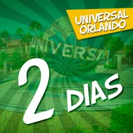 Ingresso 2 Dias Universal - Parques Universal Studios e Universal's Islands of Adventure - Permite Visitar Mais de 1 Parque por Dia - Permite Andar no Trem do Harry Potter - Sem Acesso ao Volcano Bay - Contempla Presentes Exclusivos (Enviados para sua Casa) - ADULTO (10 anos ou +) - Validade 1 Ano Após a Emissão