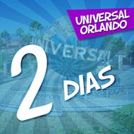 Ingresso 2 Dias Park-to-Park Universal - Contempla os Parques Universal Studios e Universal's Islands of Adventure - Permite Visitar Mais de 1 Parque por Dia - Permite Andar no Trem do Harry Potter - ADULTO (10 anos ou +) - Validade 1 Ano Após a Emissão