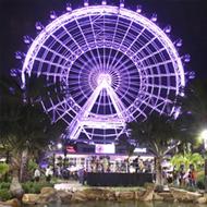 Ingresso Roda Gigante The Wheel - Contempla Presentes Exclusivos (Enviados para sua Casa) -  Maior Roda Gigante da Flórida - (antiga ICON Orlando) - 122m de Altura com Visão de Tirar o Fôlego - ADULTO (13 anos ou +) - Validade 1 Ano Após a Emissão