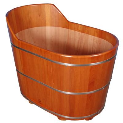 Ofurô oval super confortável e bonito