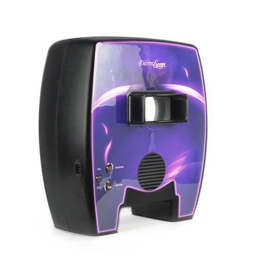 Derma Scan Full Preto - Dermaview analisador de pele com luz de wood