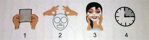 Vicae Máscara Facial Reparadora com Pantenol e Açúcares Raros - Caixa com 12 Sachês