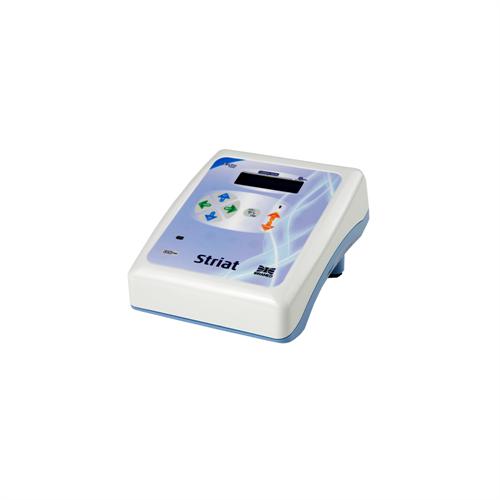 Striat eletroestimulador - Microcorrente galvânica p/ eletrolifiting, rugas, estrias, linhas de expressão