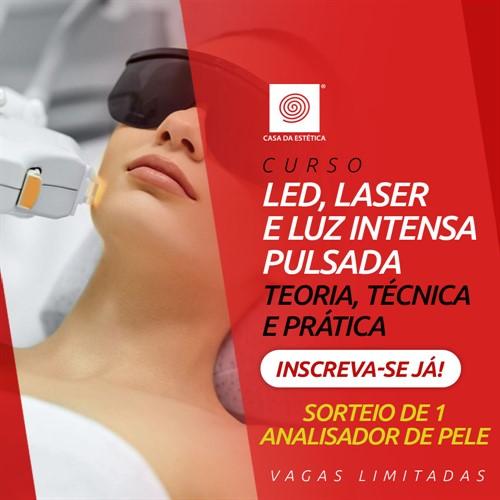 Curso de LED, Laser e Luz Intensa Pulsada