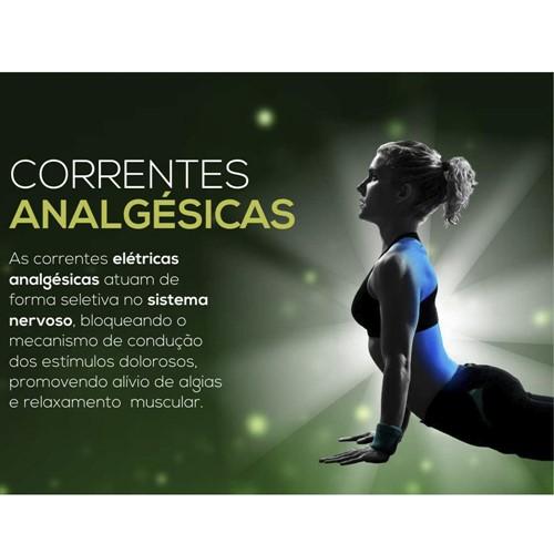 Endophasys Multicorrentes - Correntes analgésicas, fortalecimento, anti-inflamatória, iontoforese - KLD
