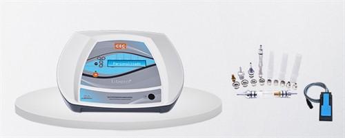Libera - Aparelho de Microdermoabrasão, Peeling de Diamante com 9 Ponteiras - CECBRA