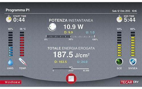TECAR CRV 200 - ÚNICA Radiofrequência que entrega energia com controle total