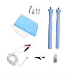Kit Microcorrentes e Eletrolifting para aparelho Sonopeel (Peeling ultrassônico, sonoforese, terapia combinada, microcorrentes) Ibramed