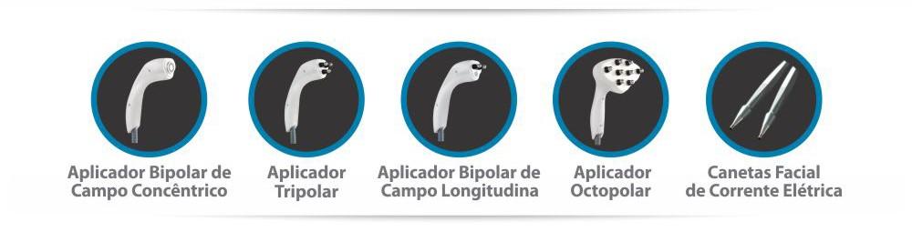 Hertix Octopolar - Corrente Russa, Rugas, Celulite, Linhas de expressão