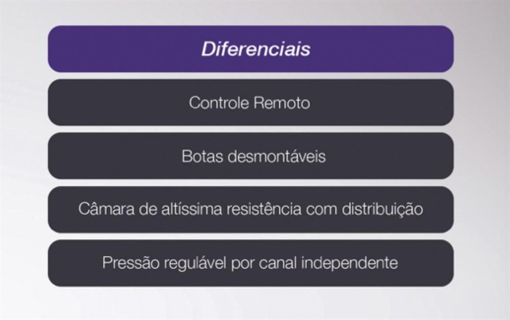 Drenapress - Pressoterapia sequencial de 8 canais c/ Rack - CECBRA