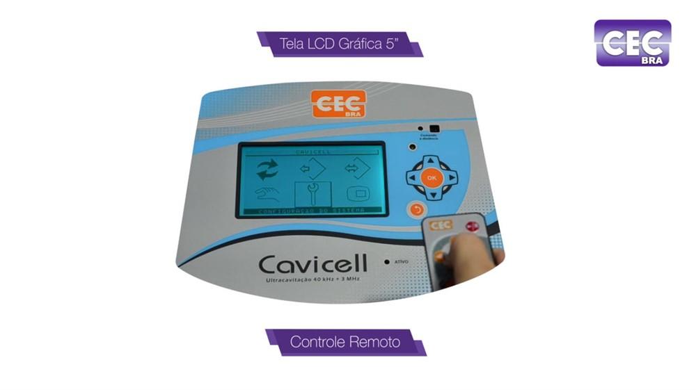 Cavicell - Ultracavitação 40 kHz e Ultrassom HP
