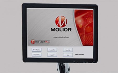 Duo Light Plus - Luz Intensa Pulsada combinada à Radiofrequência Tripolar - Molior
