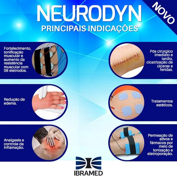 Neurodyn Multicorrentes - Fortalecimento e tonificação muscular