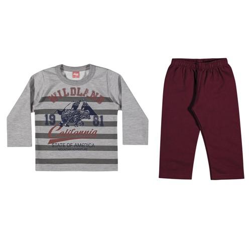 7648b0d2ba Conjunto Infantil Elian Blusão e Calça de Moletom Forrado Wildland 01 e 02  Anos - comprar - preço rio de janeiro