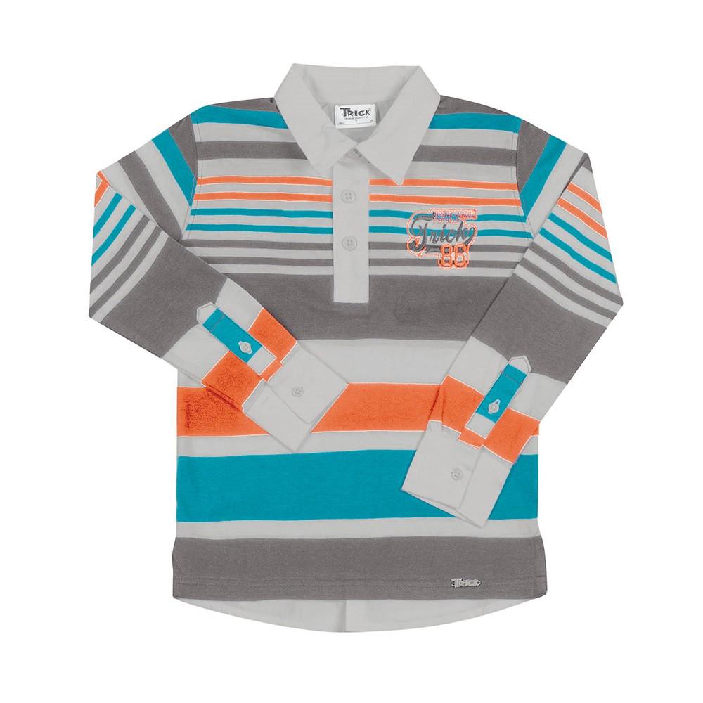 Camisa Polo Infantil Trick Nick Manga Longa - comprar - preço rio de ... 2fa790d36c7
