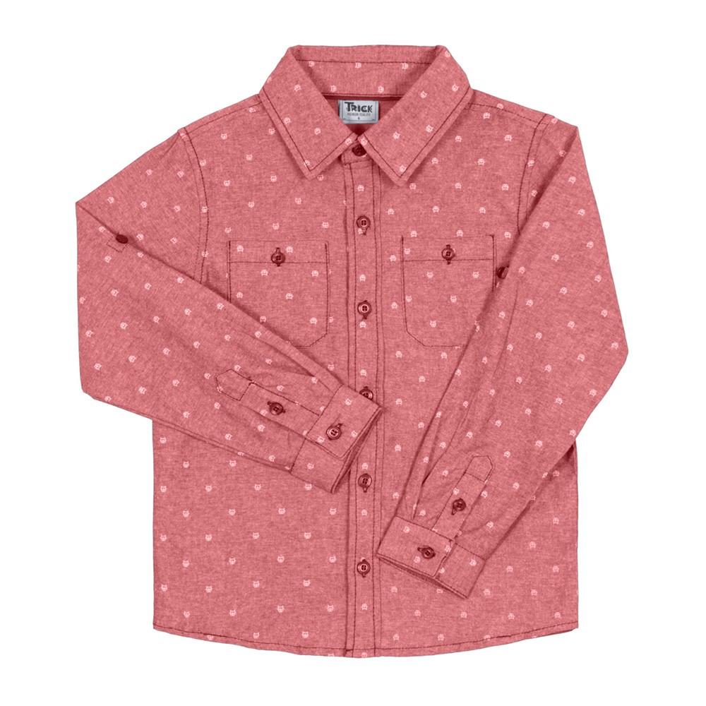 a81f7a303 Camisa Social Infantil Trick Nick Manga Longa 10 a 14 anos - comprar ...