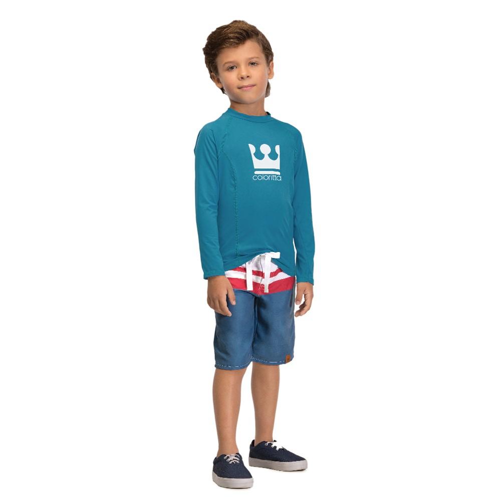 14074bfe6 Camiseta Infantil Masculino Tecido com Proteção UV 50 - comprar ...