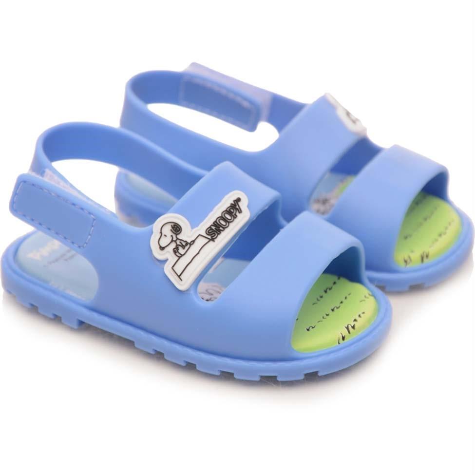 be10a38790 Sandália Bebê Pimpolho Colorê Peanuts Azul Brisa - comprar - preço ...